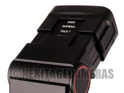Bounce Swivel and Zoom Thyristor Auto or Manual Hot Shoe Flash Low Voltage for Film, Digital Cameras
